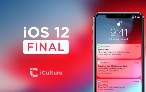 iOS 12 Final.