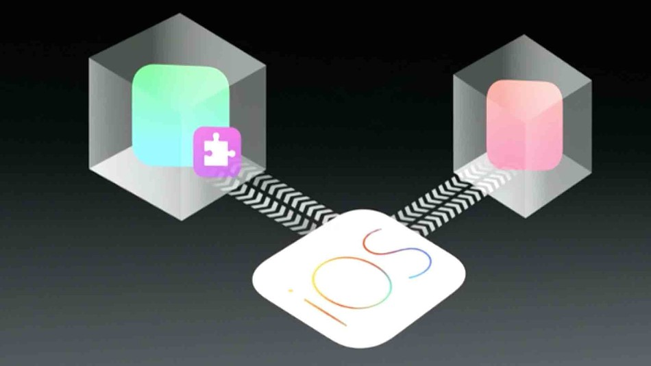 Extensibility in iOS