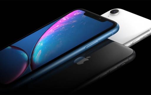 iPhone XR voor- en achterkant