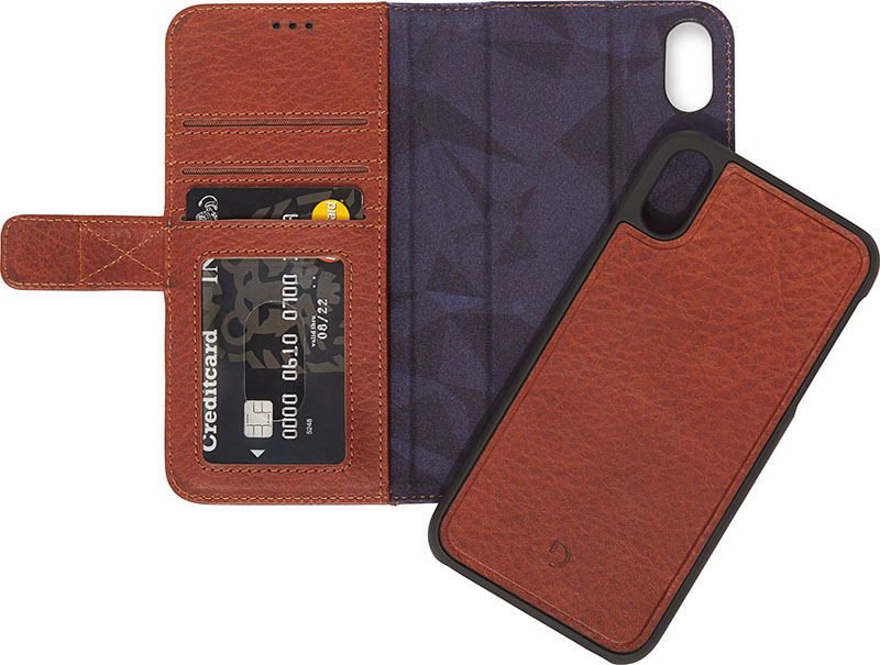 Decoded 2-in-1 Wallet iPhone XS hoesje