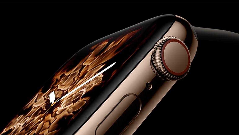 Apple Watch Series 4 Liquid Metal wijzerplaat