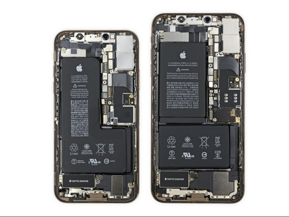 iFixit L-vormige accu iPhone XS