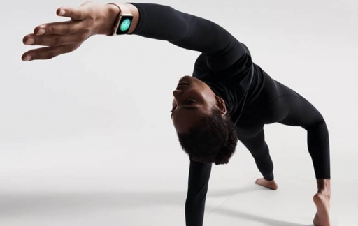Apple Watch yoga