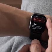 Apple Watch ECG meting