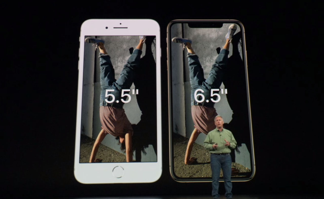 iPhone XS Max vs Plus-formaat