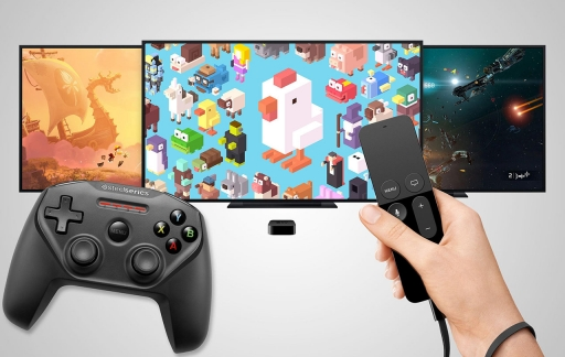 Apple TV gamecontroller