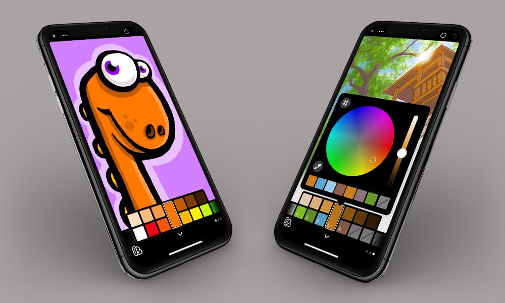 Linea Go op de iPhone.