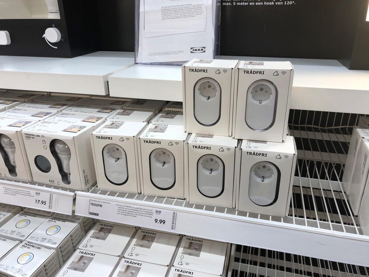 Tradfri stekkers bij IKEA