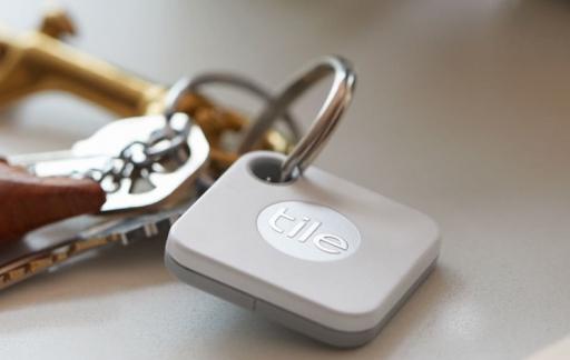 Tile Mate aan sleutelbos.