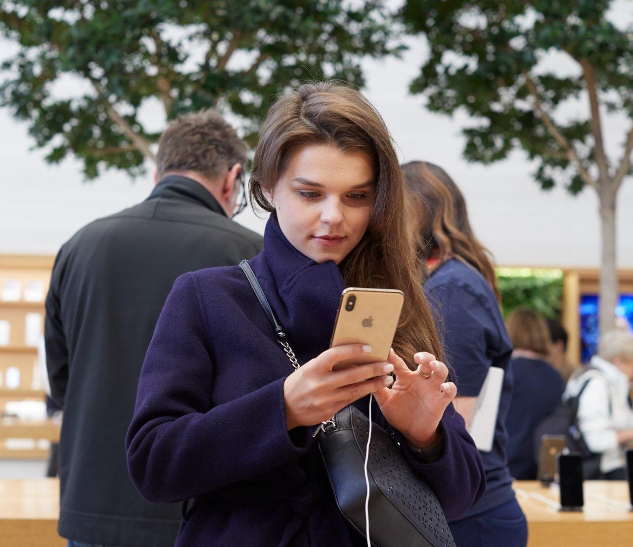 iPhone XS oplaadprobleem - iPhone XS launch in Londen