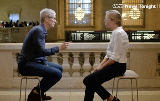 Tim Cook interview met Vice