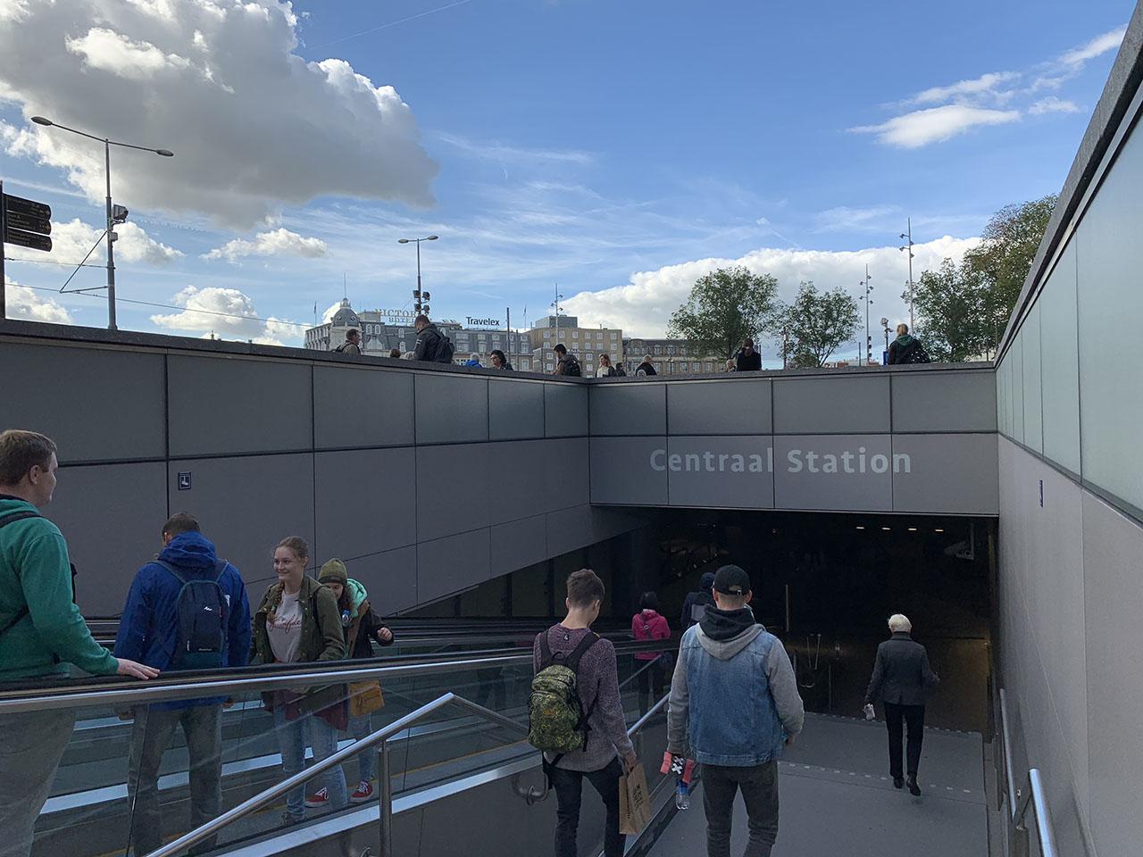 Centraal Station, foto gemaakt met iPhone XS Max