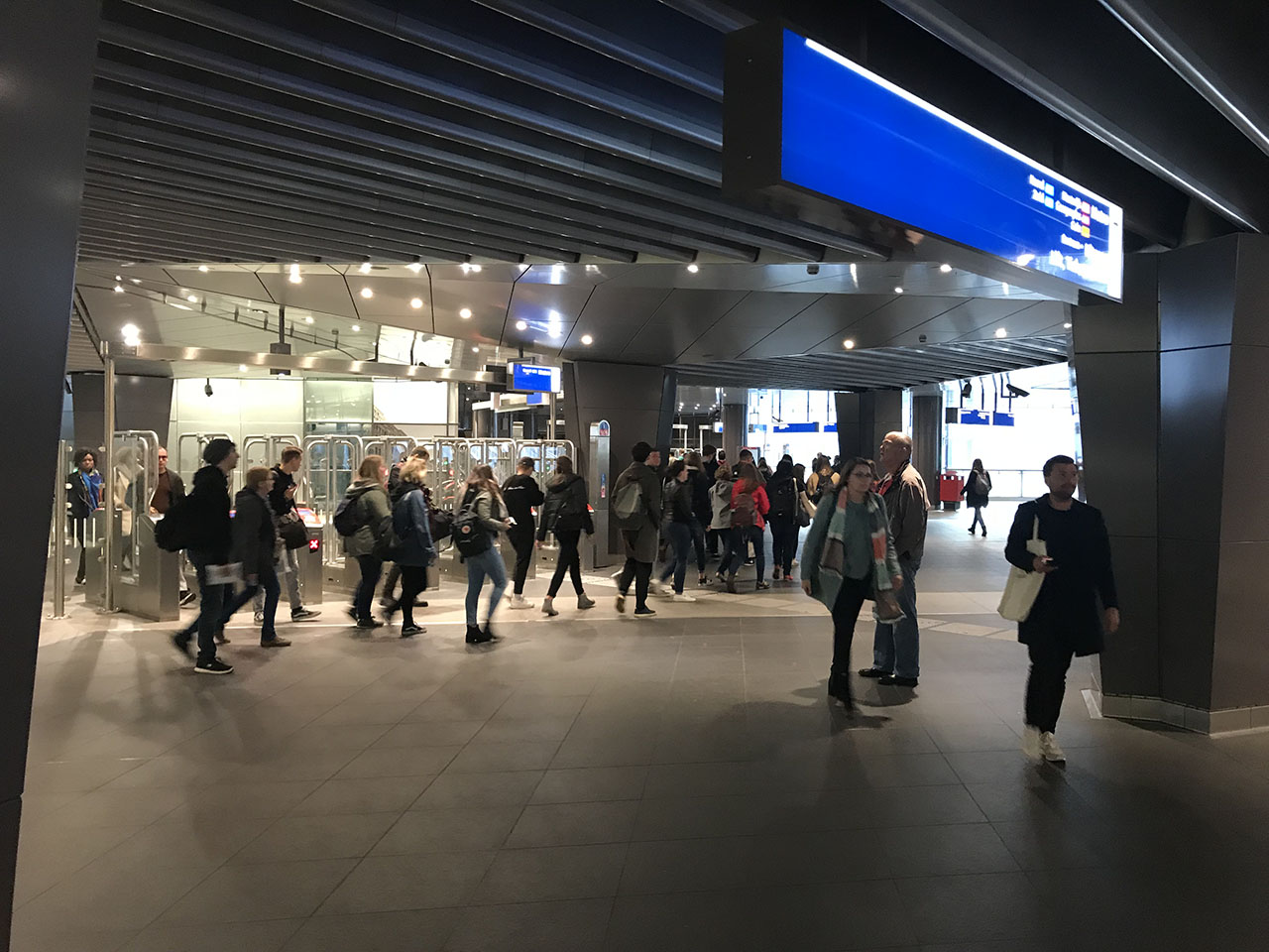 Metrohal, foto gemaakt met iPhone 7