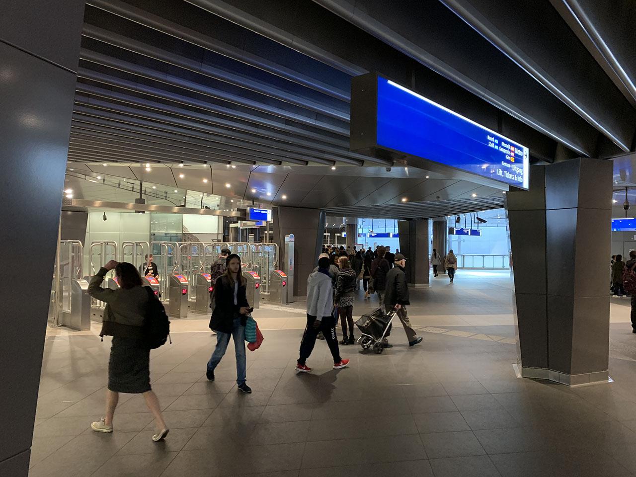 Metrohal, foto gemaakt met iPhone XS Max