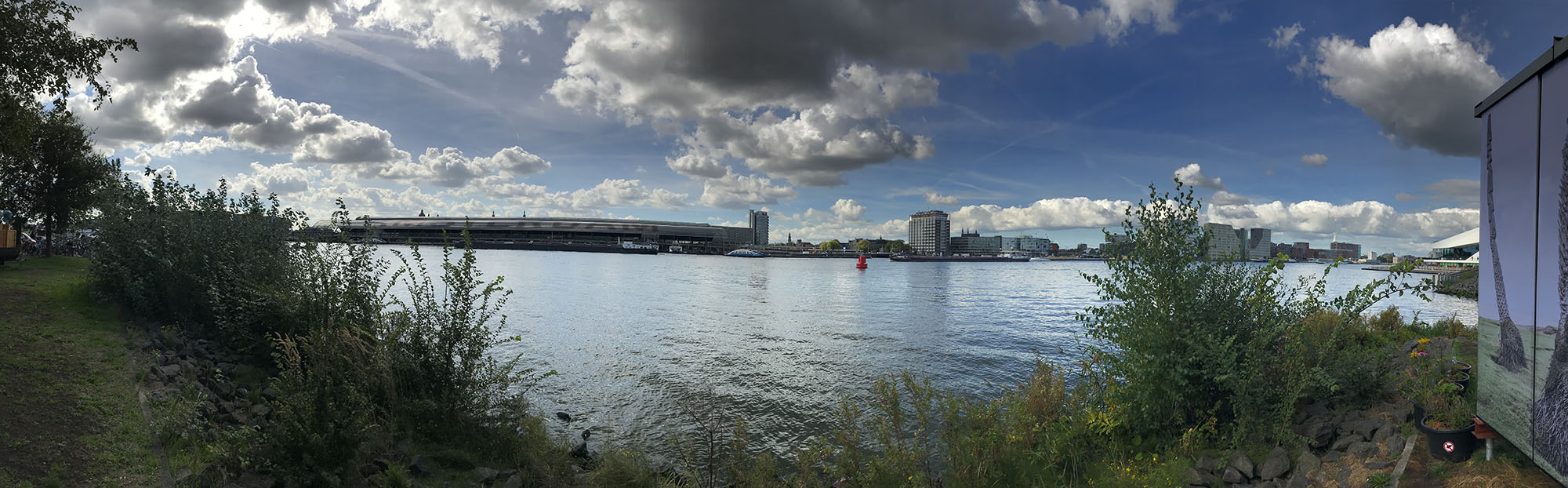 Panorama, foto gemaakt met iPhone 7