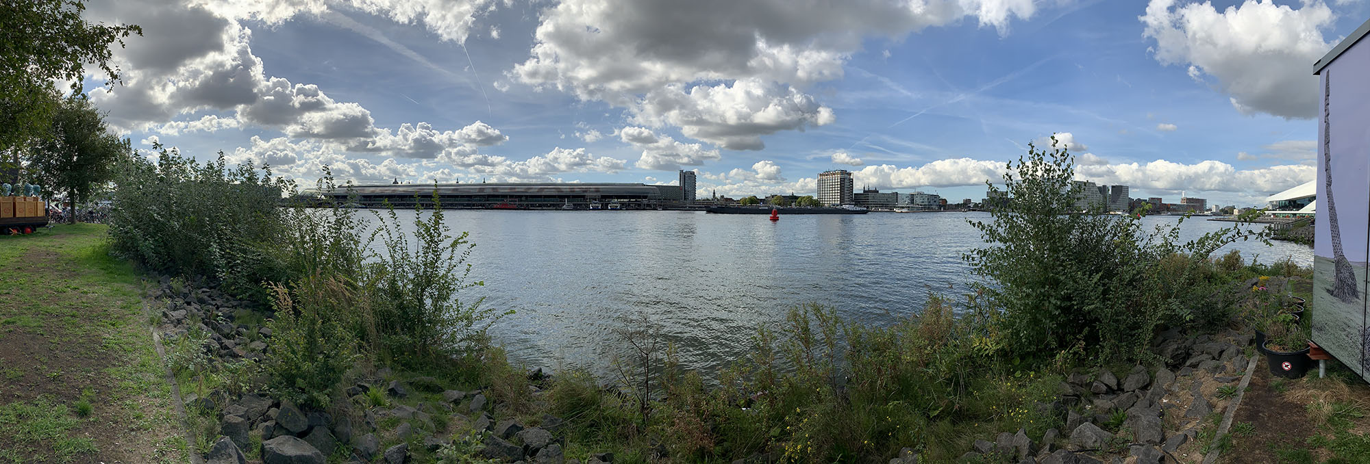 Panorama, foto gemaakt met iPhone 8 Plus