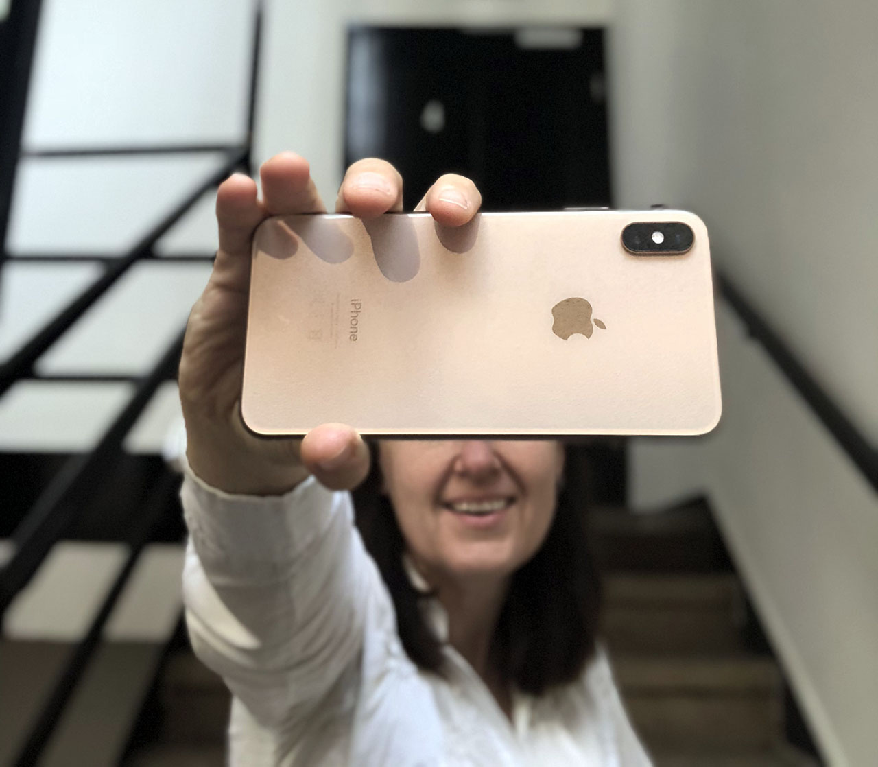 iPhone XS Max review achterkant