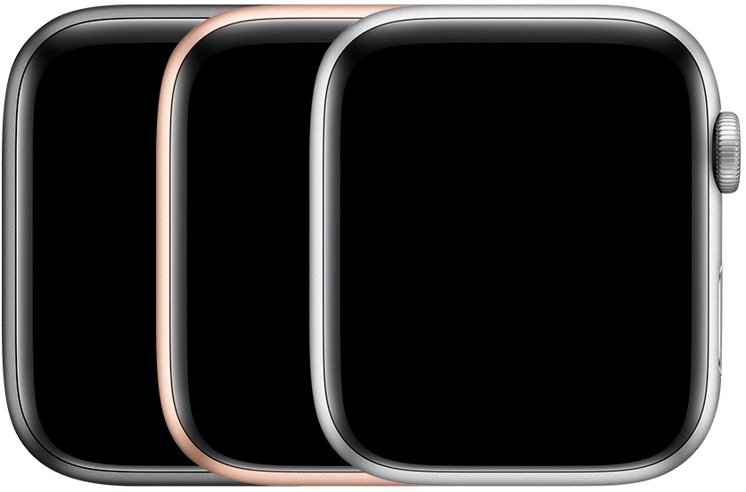 Apple Watch Series 4 in aluminium.