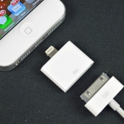 Lightning naar 30-pins adapter.