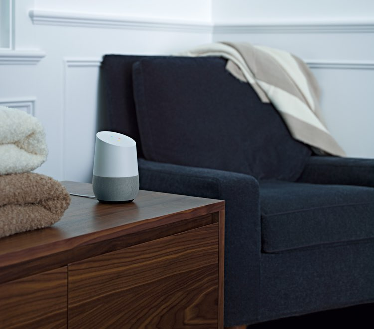 Google Home slaapkamer