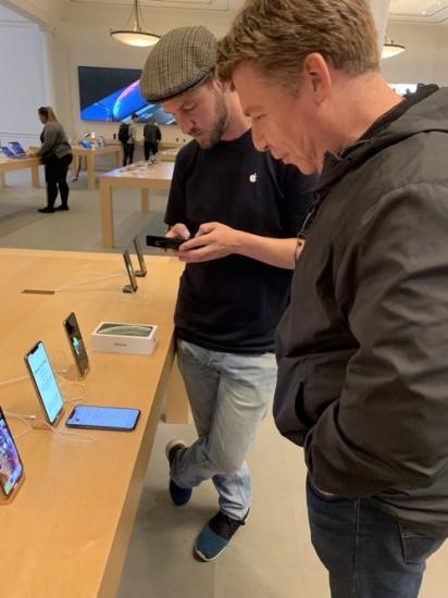 Apple Store controle