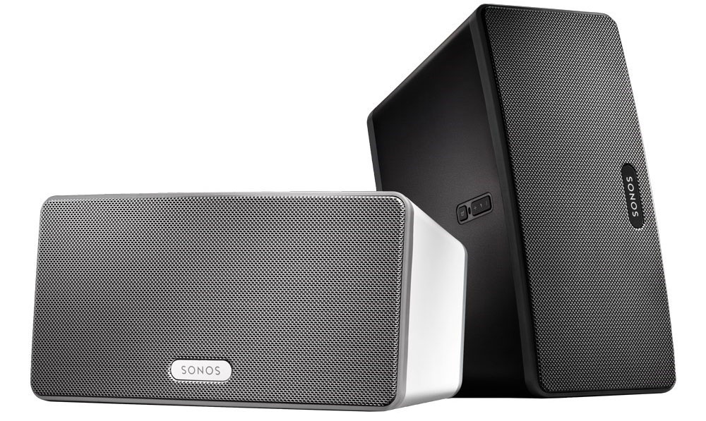 Sonos Play:3 zwart en wit