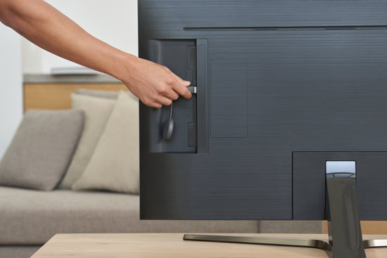 Chromecast 3e generatie met televisie