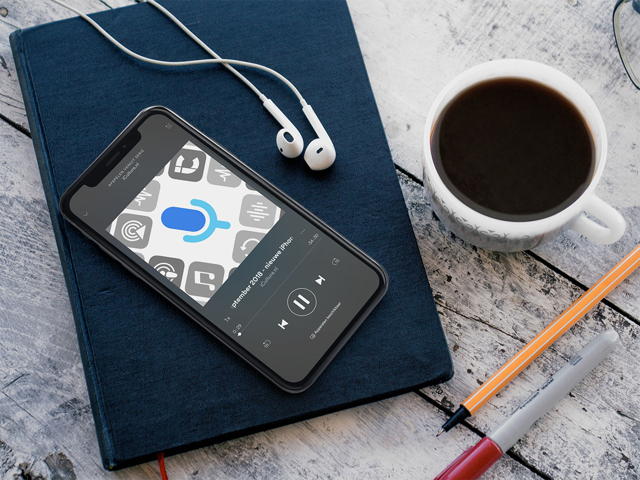 Spotify podcasts luisteren
