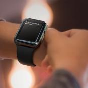 Apple Watch aantikken en wachten
