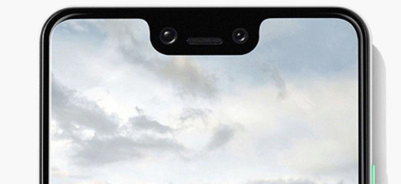 Google Pixel 3 voorkant