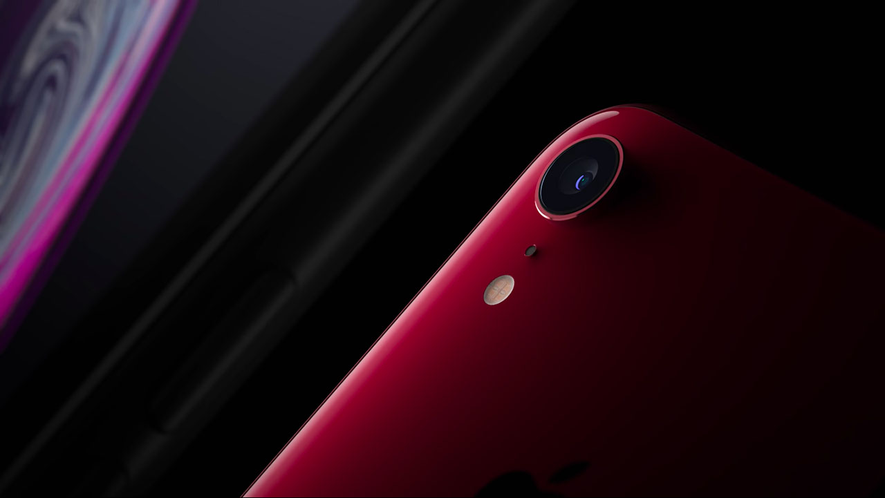 iPhone XR rood camera