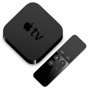 Apple TV met remote