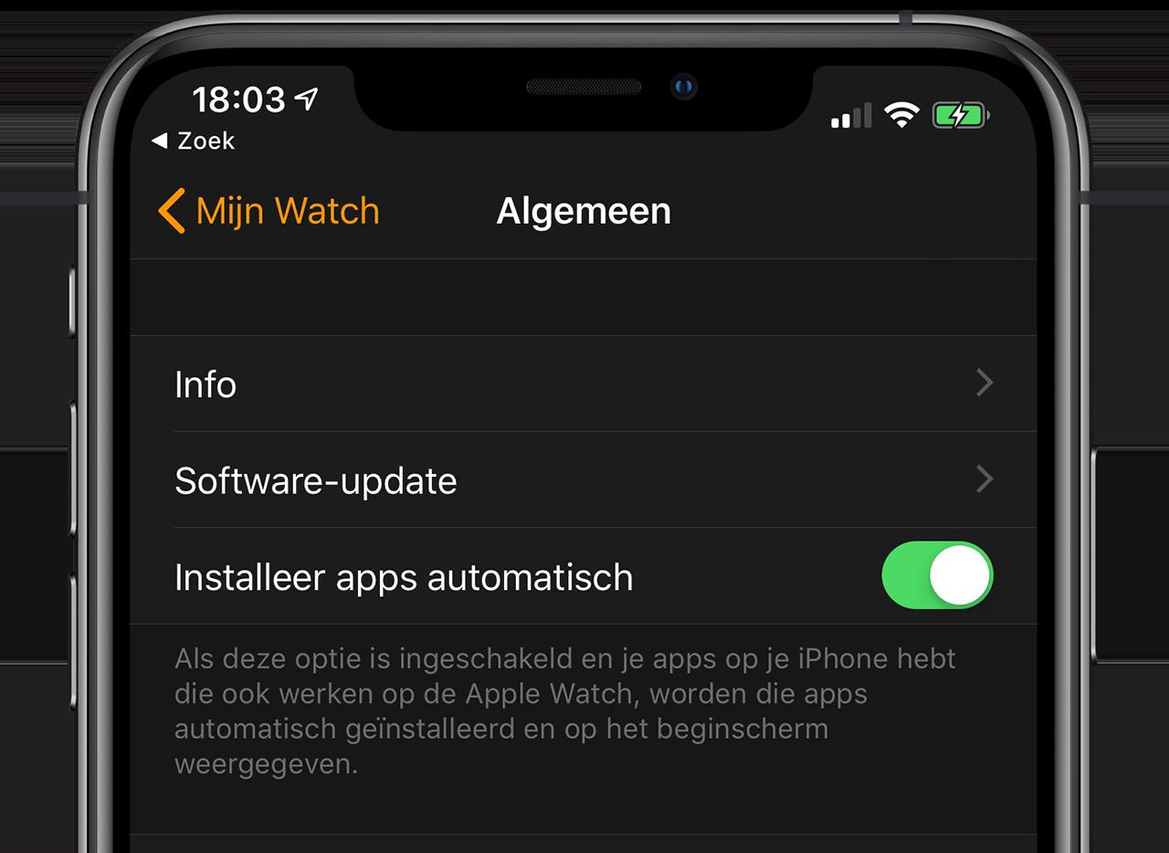 Apps automatisch bijwerken