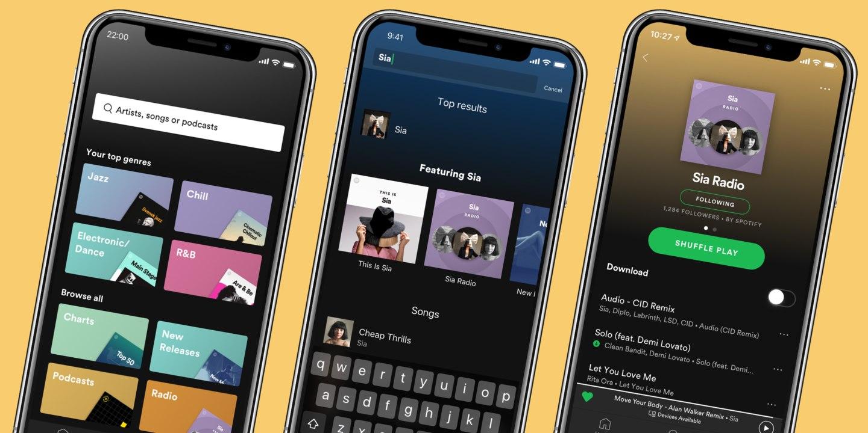 Spotify Premium vernieuwd.
