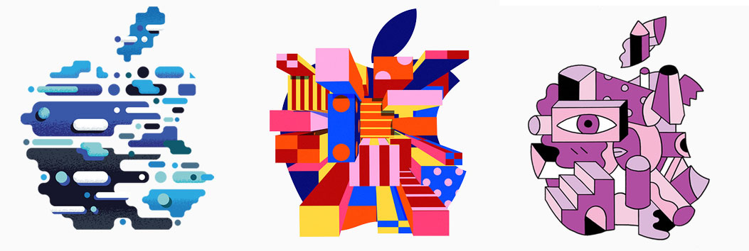 Apple-logo's event oktober 2018