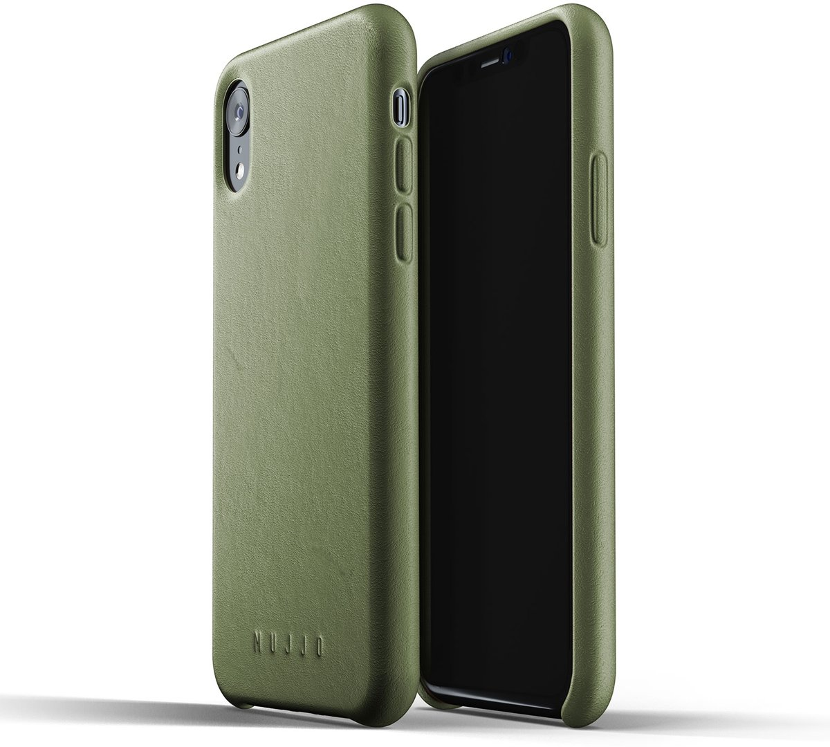 Mujjo Leather Case voor iPhone XR.
