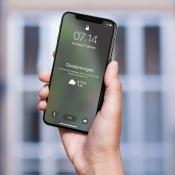 Wakker worden met weerbericht op iPhone