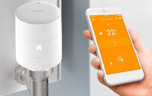 Tado smart radiatorknoppen