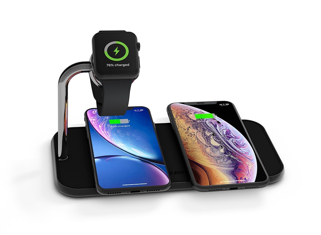 ZENS Dual+Watch Fast Wireless Charger.