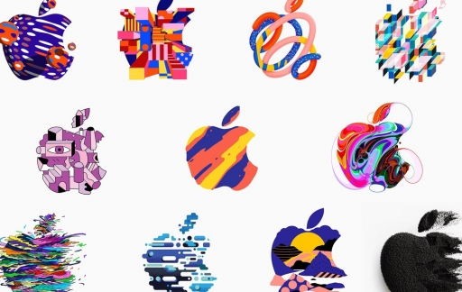 Apple logo's 2018