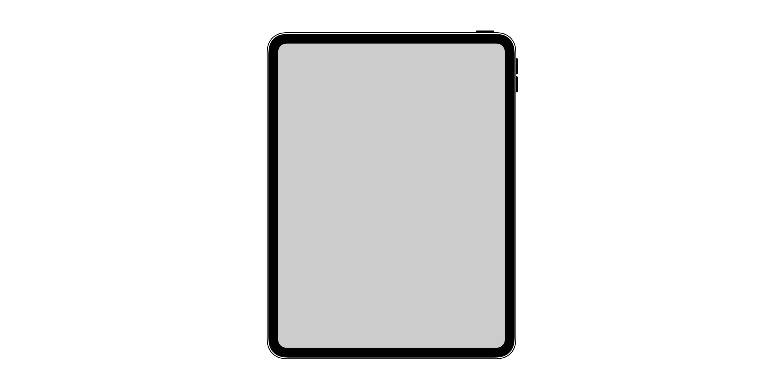 iPad Pro 2018 icoon