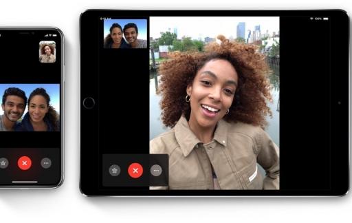 FaceTime is ook te gebruiken met alleen audio