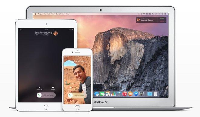 iPhone doorschakelen telefoongesprekken met Continuiteit