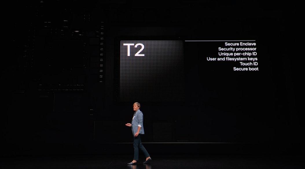 MacBook Pro met T2.