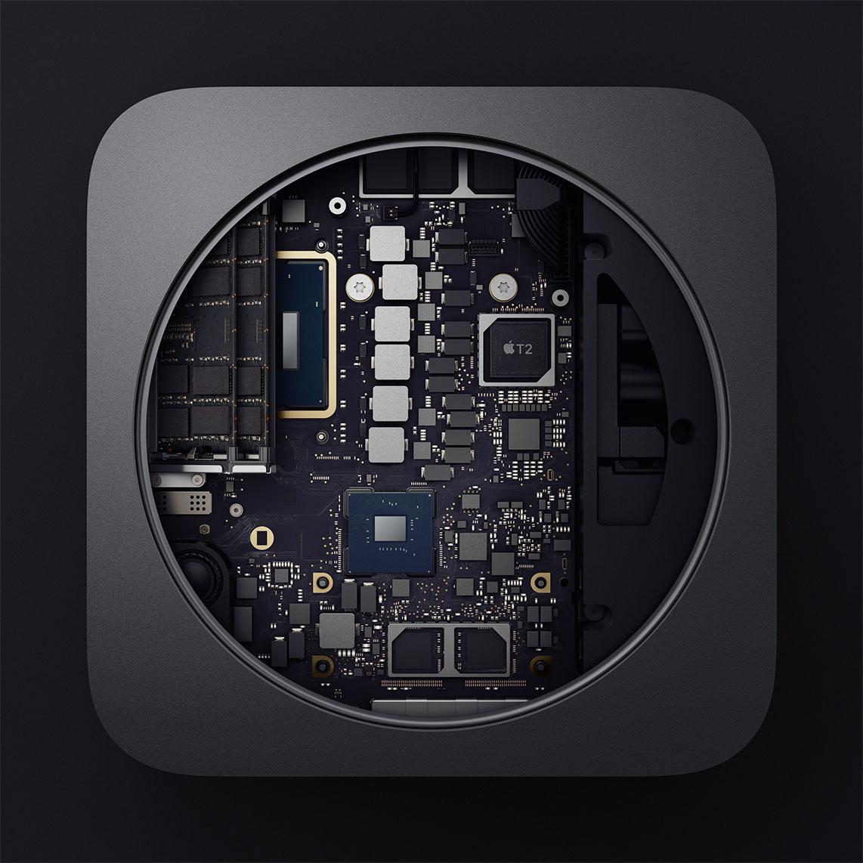 Mac mini 2018 binnenkant