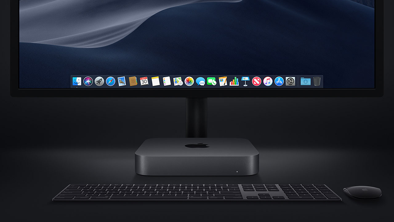 Mac mini desktop spacegrijs