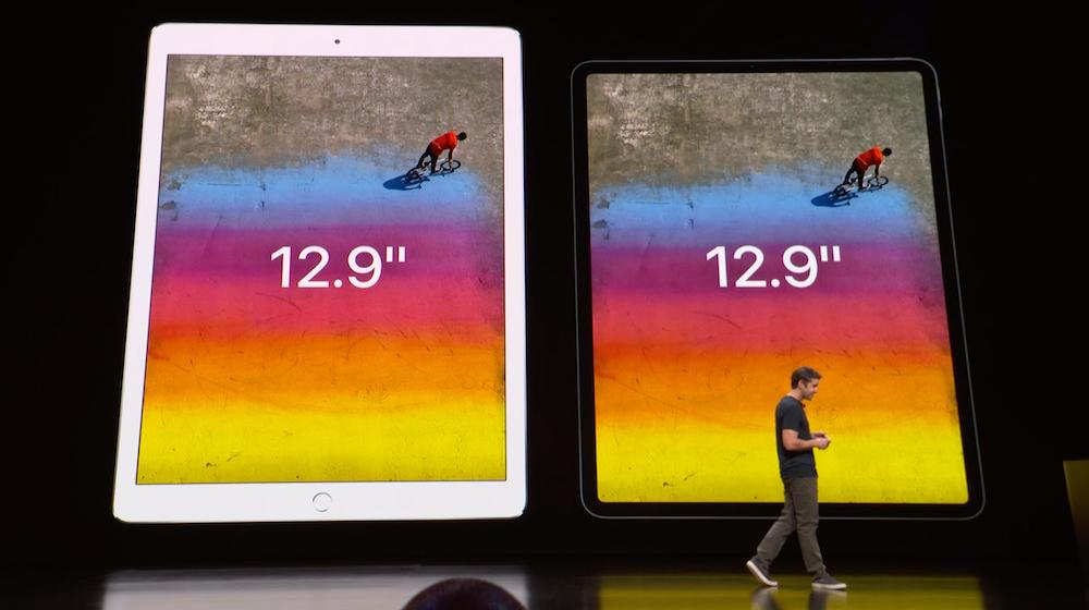 Originele iPad Pro vs. iPad Pro 2018