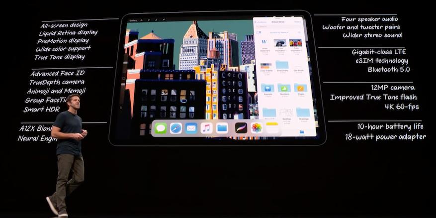 iPad Pro 2018 specs
