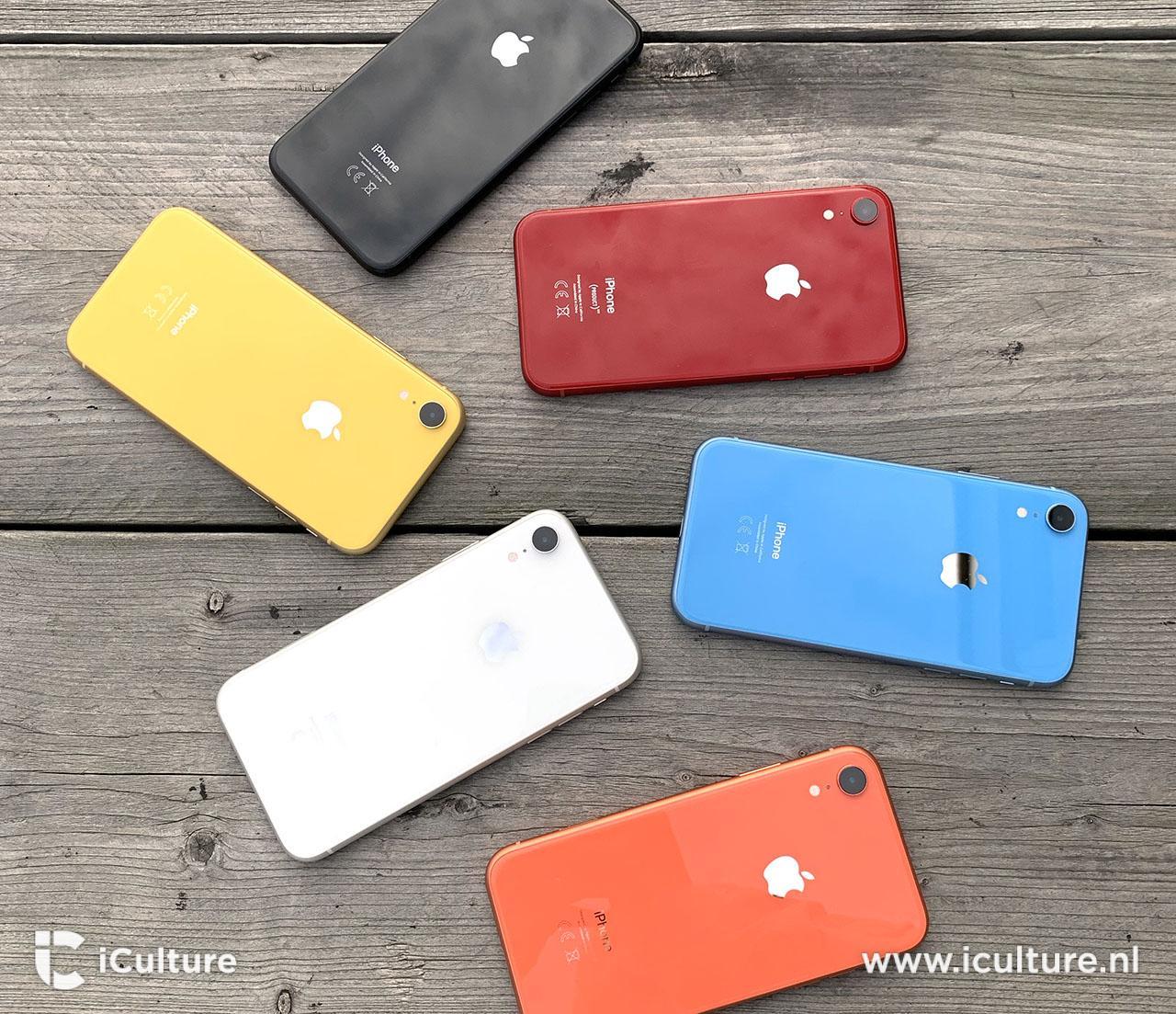 iPhone XR review in 6 kleuren
