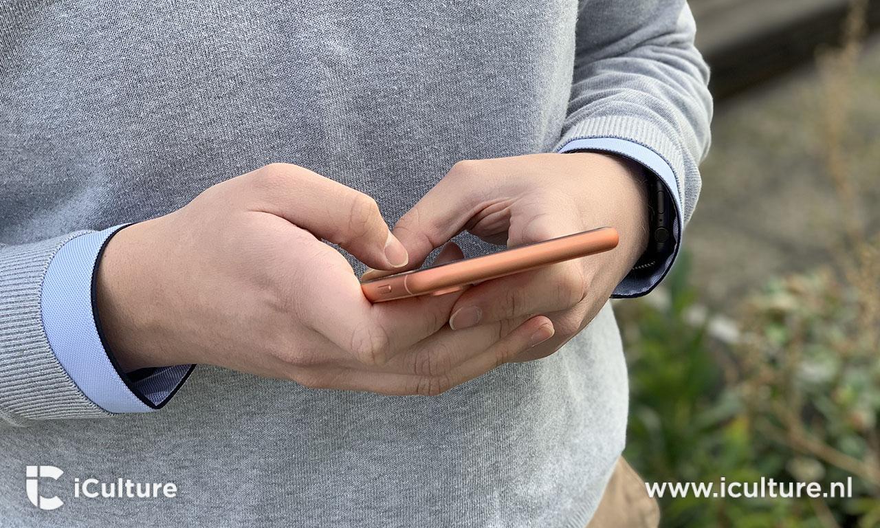 iPhone XR review: koraal lijkt soms wat op koper